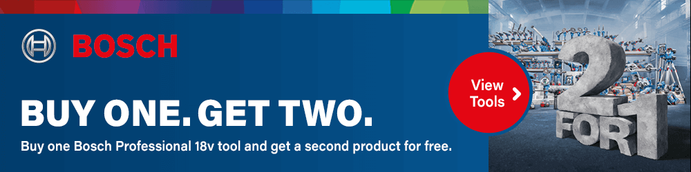 Bosch Professional Buy One Get Two Promotion