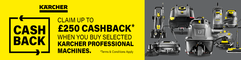 Karcher Professional Cash Back 2020 Promotion