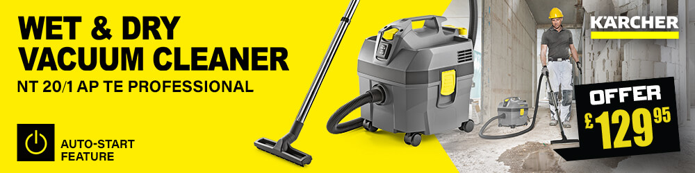 Karcher Professional Wet Dry Vacuum Cleaner NT 20