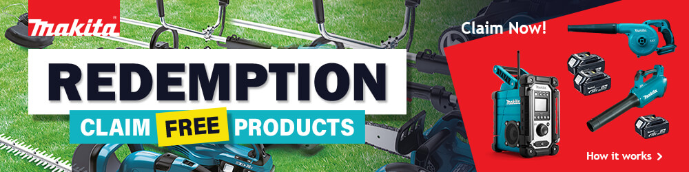 Makita Redemption Claim Free Products