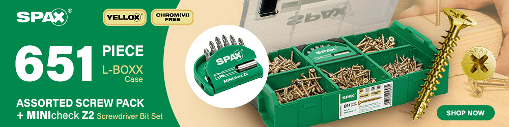 Spax Assorted Screw Pack Bit Set