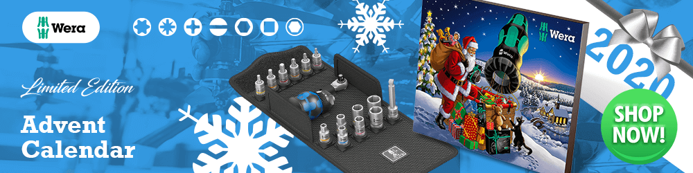 Wera Tool Christmas Advent Calendar 2020