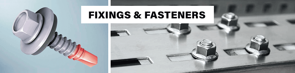 Fixings Fasteners Bolts Brads Nails Chemical Resin Fixings Hose Clips Eyelets Grommets Nuts Screws Washers Staples
