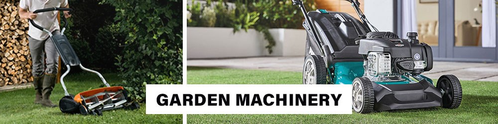 Garden Machinery Lawnmower Mower Roller Shredder Spreader Log Splitter Tiller