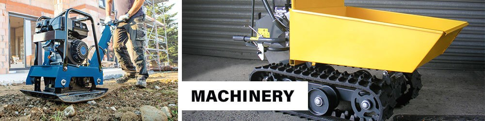 Heavy Duty Machinery Cement Mixer Compactor Bender Transporter
