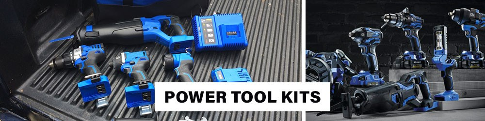 Power Tool Kit Set
