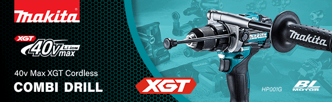 Makita HP001G 40v Max XGT Cordless Brushless Combi Drill | Combi Drills