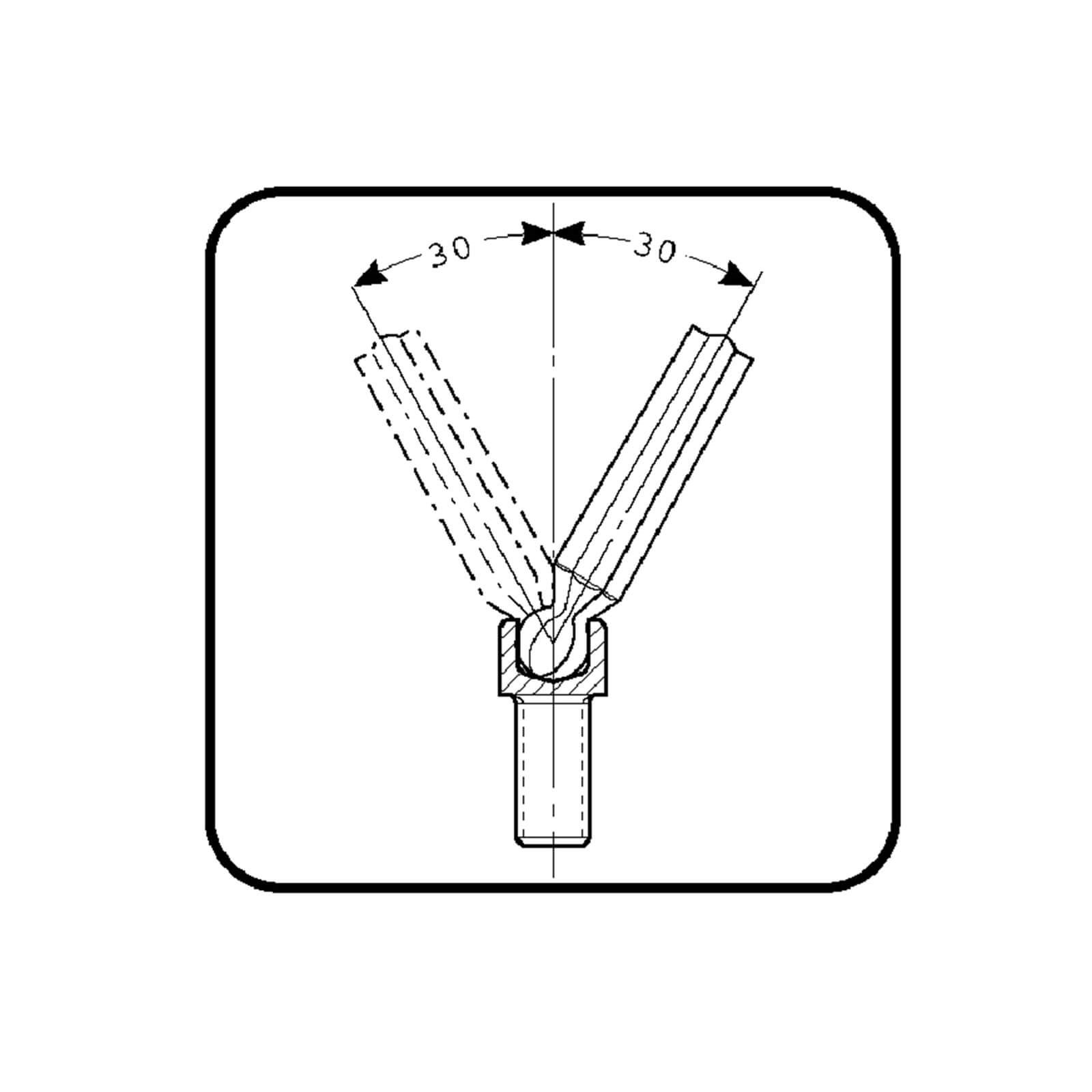 1.5-10mm Bahco BAH9770 Hexagonal Clé Set De 9 Métrique