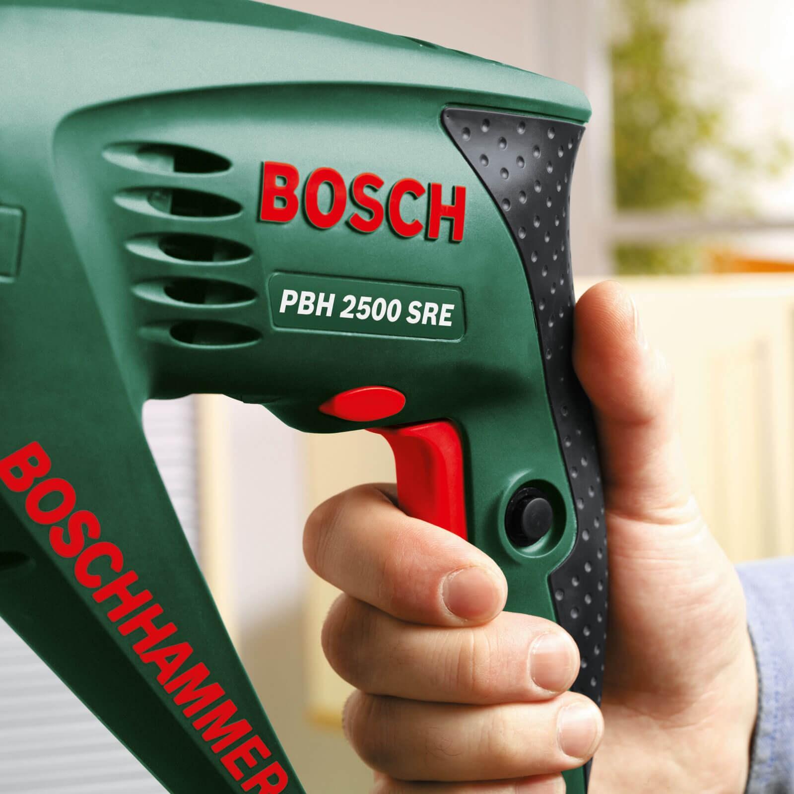 Super Bosch PBH 2500 SRE SDS Rotary Hammer Drill + Keyed Chuck FZ35