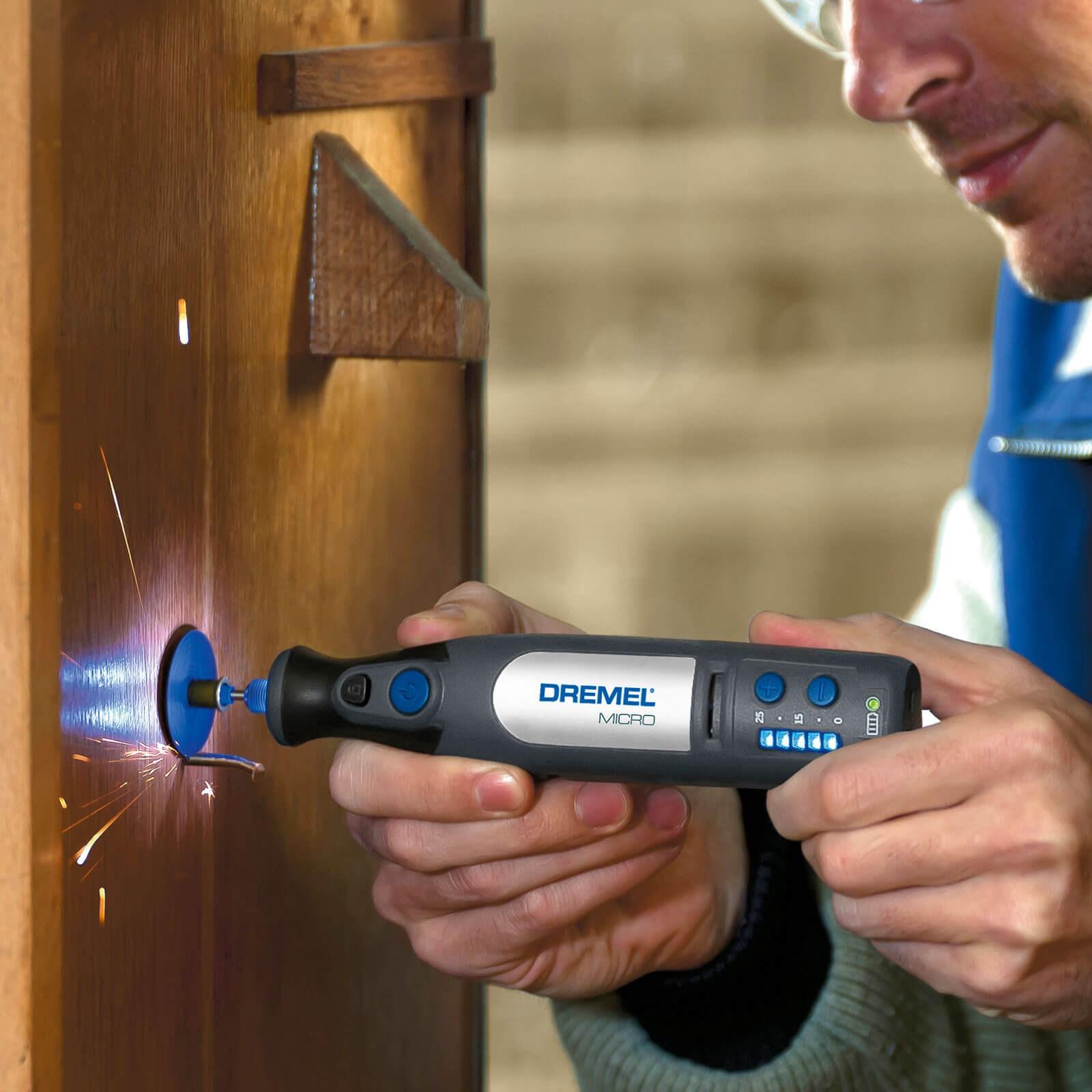 dremel micro 7.2v cordless rotary multi tool 35 accessory kit