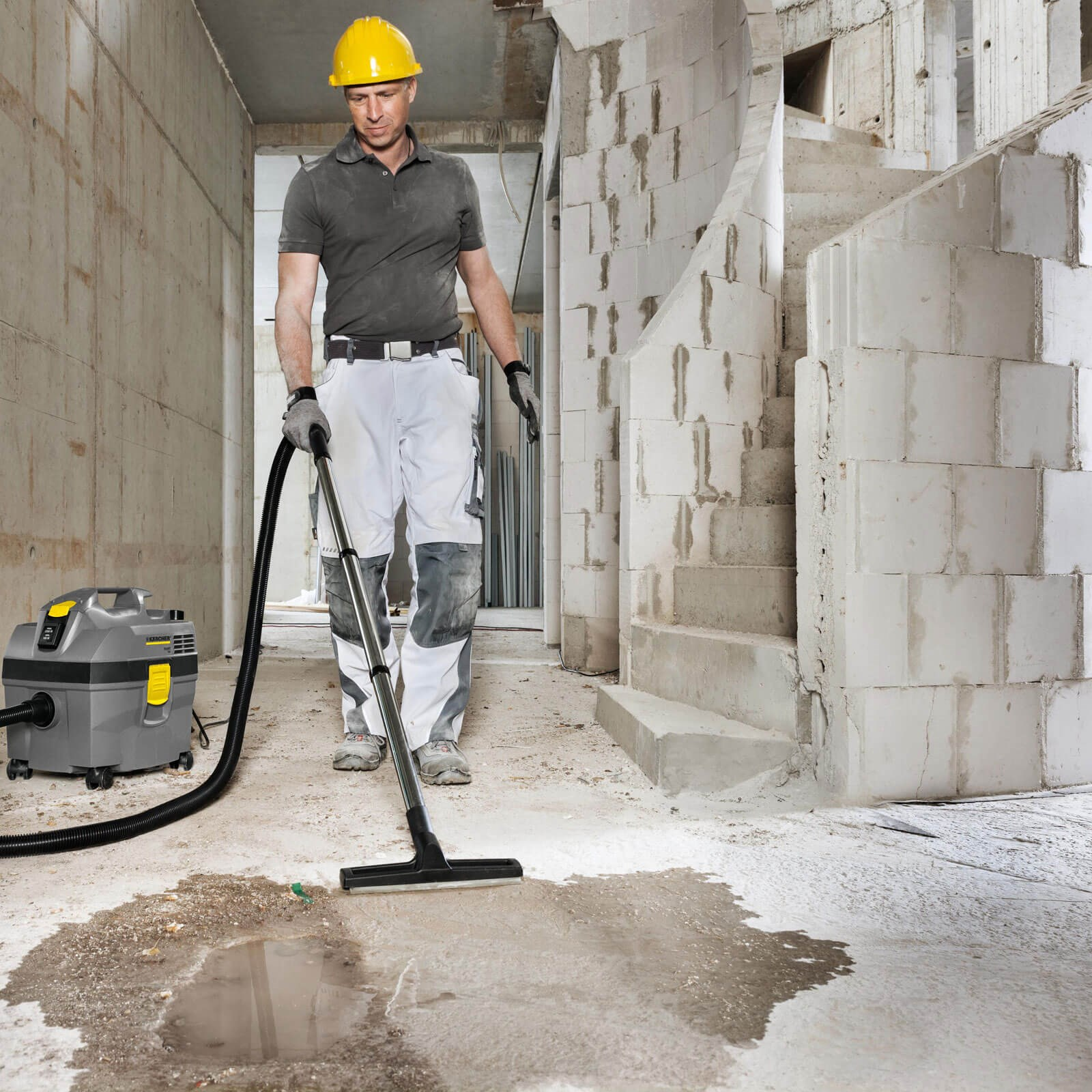 Karcher NT 20//1 AP TE Professional Wet /& Dry Vacuum Cleaner 240v
