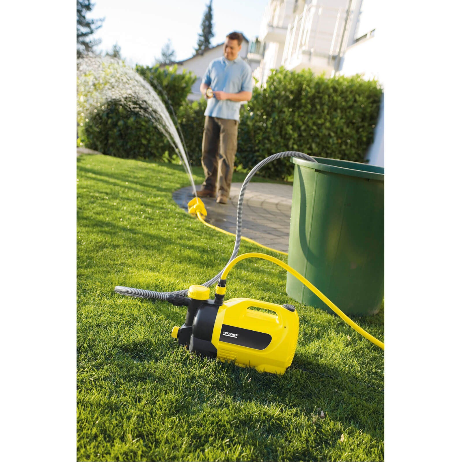 Karcher GP 50 MC Surface Water Pump with Garden Hose Oscillating