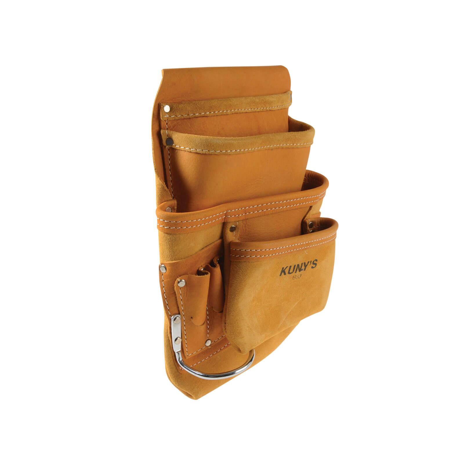 Kuny/'s api933 Carpenter/'s Nail and tool bag with 10 Pocket
