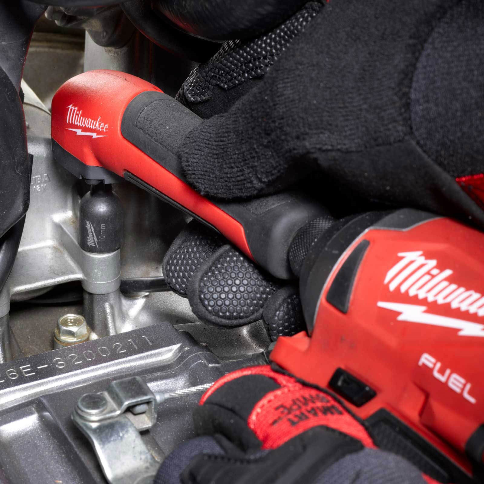 Milwaukee 4932471274 Shockwave Impact Duty Right Angle Attachment 11 Piece