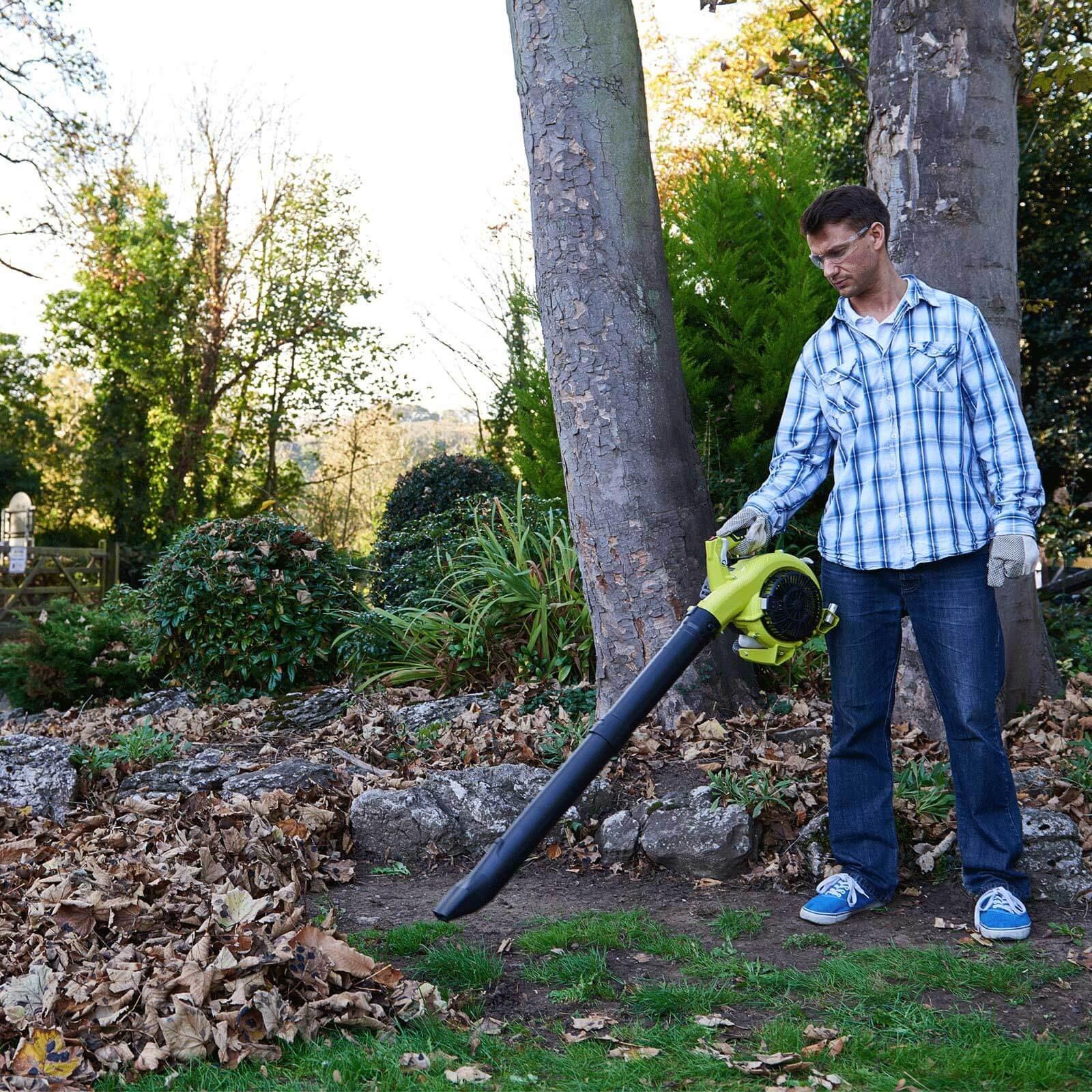 Ryobi RBV26B Petrol Garden Vacuum and Leaf Blower   Leaf