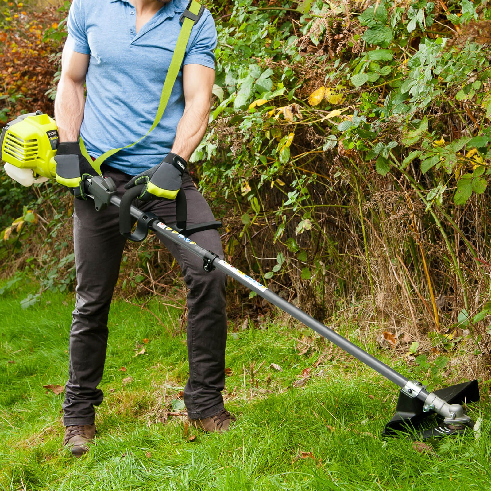 Ryobi RBC254SESO Petrol Expand It 2 in 1 Grass Trimmer and