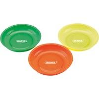 Draper 3 Piece Magnetic Parts Bowl Set