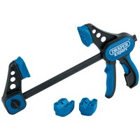 Draper Expert Soft Grip Dual Action Quick Clamp