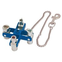 Draper Expert Master Utility Key with Key Chain & Belt Clip