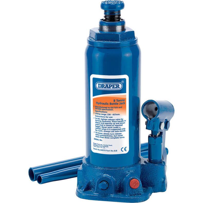 Draper Hydraulic Bottle Jack 8 Tonne