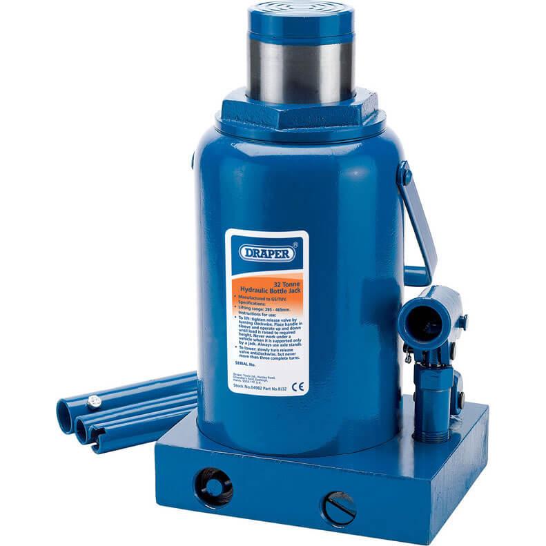 Draper Hydraulic Bottle Jack 32 Tonne