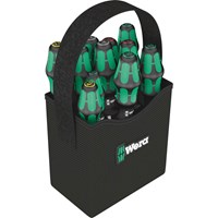 Wera 12 Piece Kraftform Plus 2Go Screwdriver Set