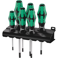 Wera 6 Piece Kraftform Plus 367/6 Torx Screwdriver Set