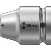"Wera 780C/1 1/2"" Square Drive to 1/4"" Hex Screwdriver Bit Holder"