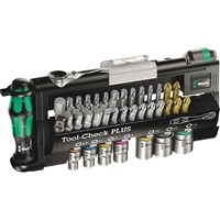 "Wera 39 Piece 1/4"" Drive Tool Check Plus Bit and Socket Set"