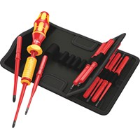 Wera Kraftform Kompakt VDE Insulated Torque Screwdriver Set