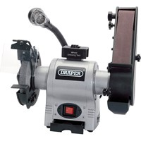 Draper GD650A Bench Grinder and Sanding Belt