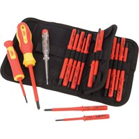 Draper Expert 18 Piece VDE Insulated Screwdriver Set