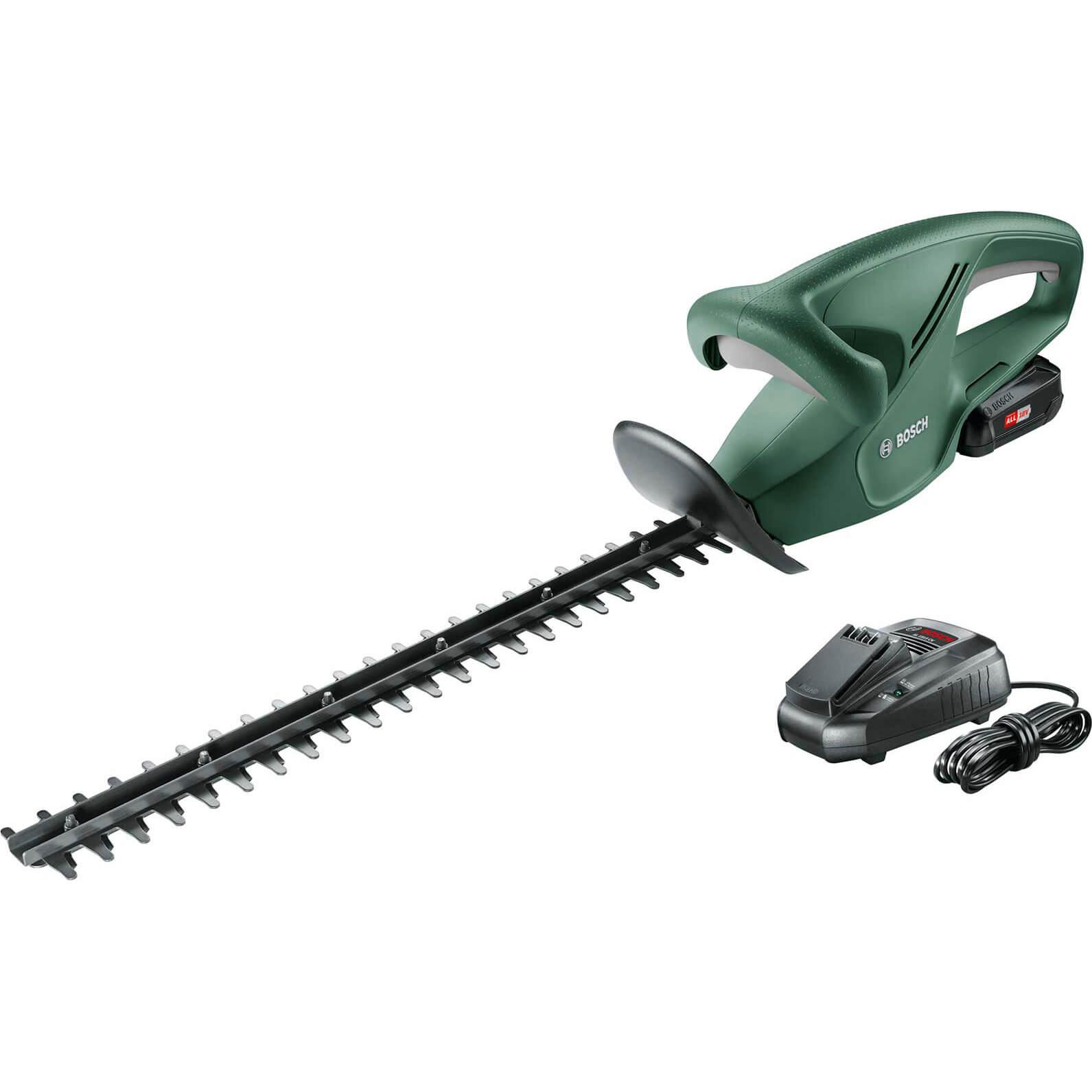 Bosch EASYHEDGECUT 18-45 18v Cordless Hedge Trimmer 450mm 1 x 2ah Li-ion Charger