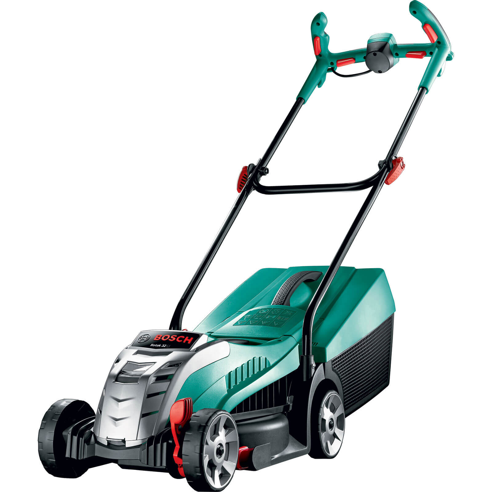 Image of Bosch ROTAK 32 LI ERGOFLEX 36v Cordless Rotary Lawnmower 320mm 1 x 2ah Li-ion Charger