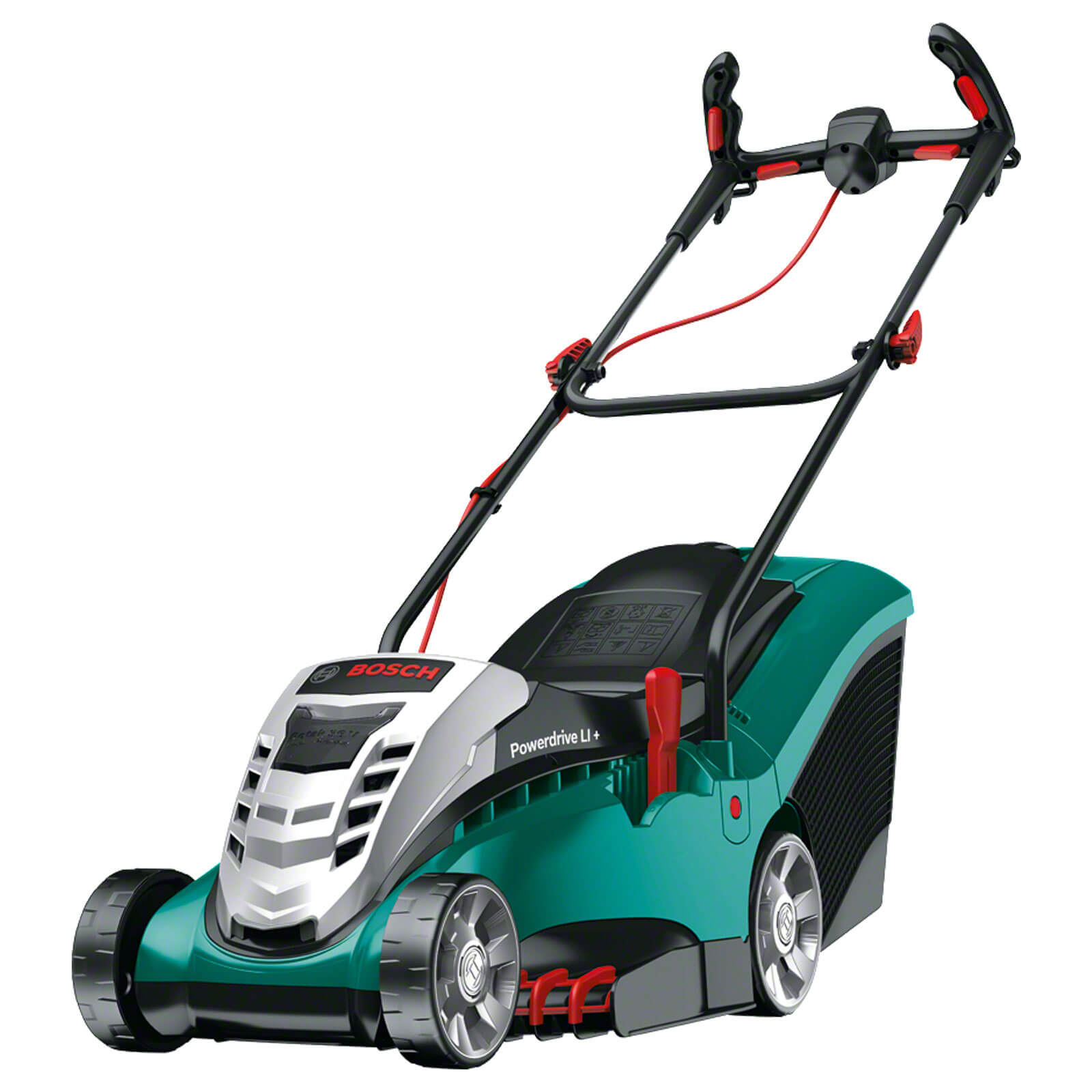 Image of Bosch ROTAK 37 LI ERGOFLEX 36v Cordless Rotary Lawnmower 370mm 1 x 4ah Li-ion Charger