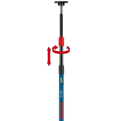 Bosch BT 350 Telescopic Pole for Laser Levels