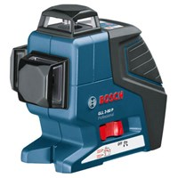 Bosch GLL 3-80P Multi Line Self Levelling Laser Level + BM1 Wall Mount