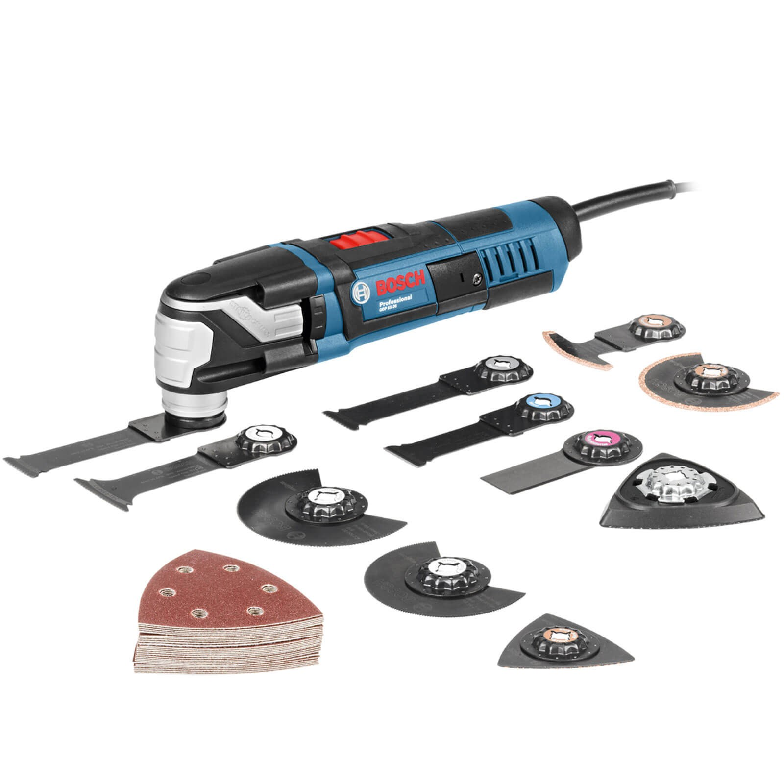 bosch gop 55-36 oscillating multi tool & accessory pack