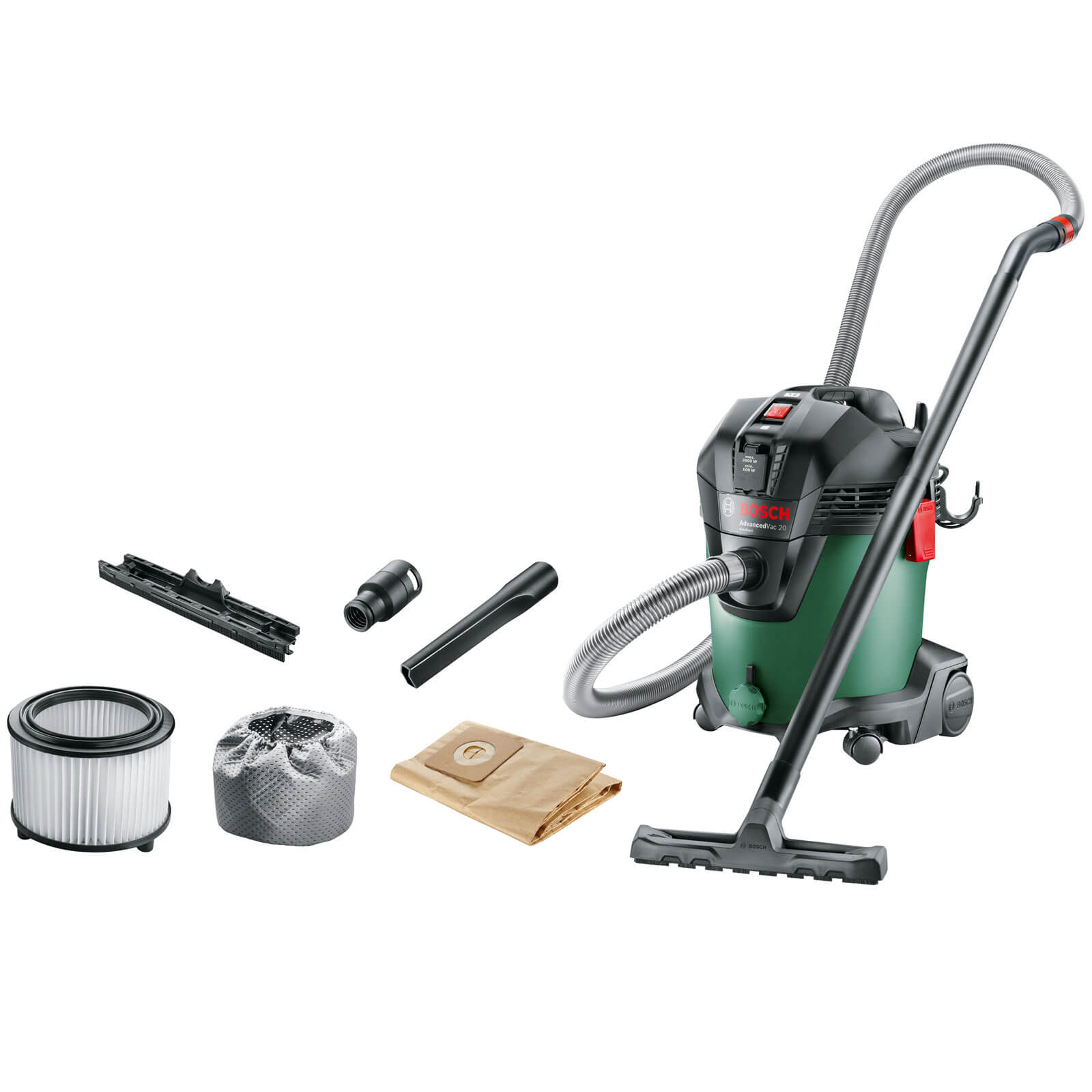 Bosch AdvancedVac 20 Wet & Dry Vacuum