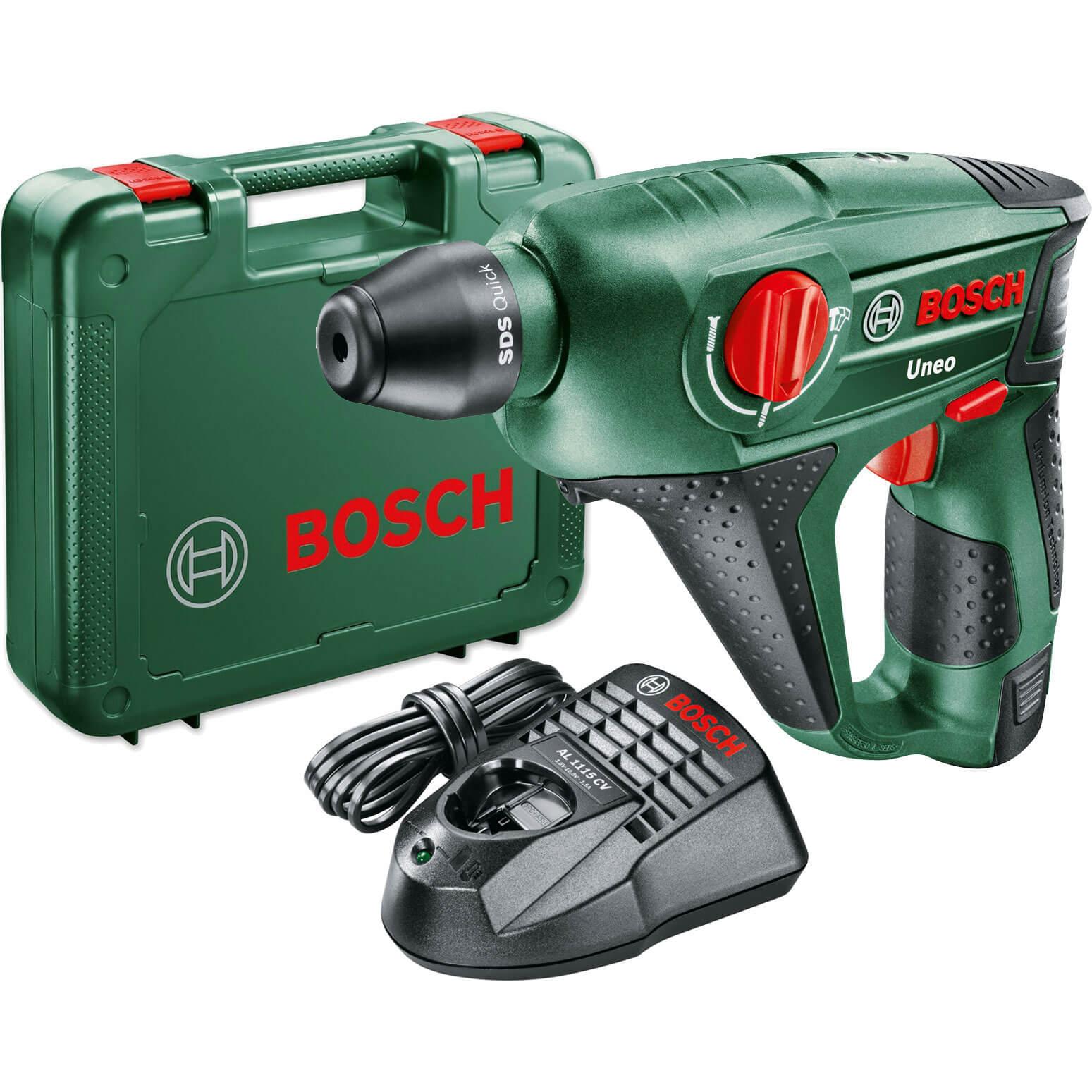 Bosch UNEO 10.8 LI2 10.8v Cordless Hammer Drill 1 x 2ah Liion Charger Case