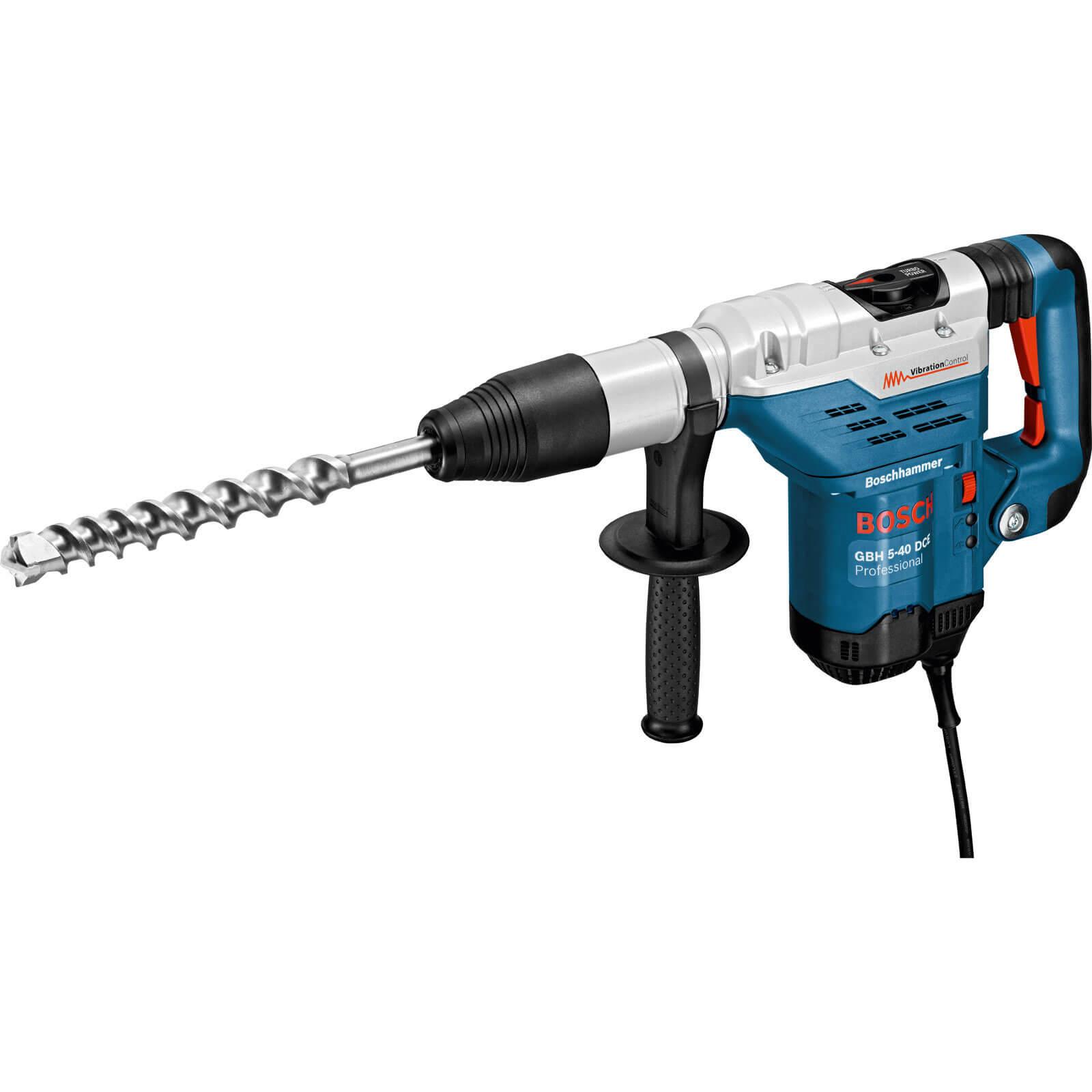 Image of Bosch GBH 5 40 DCE SDS Max Rotary Demolition Hammer 110v