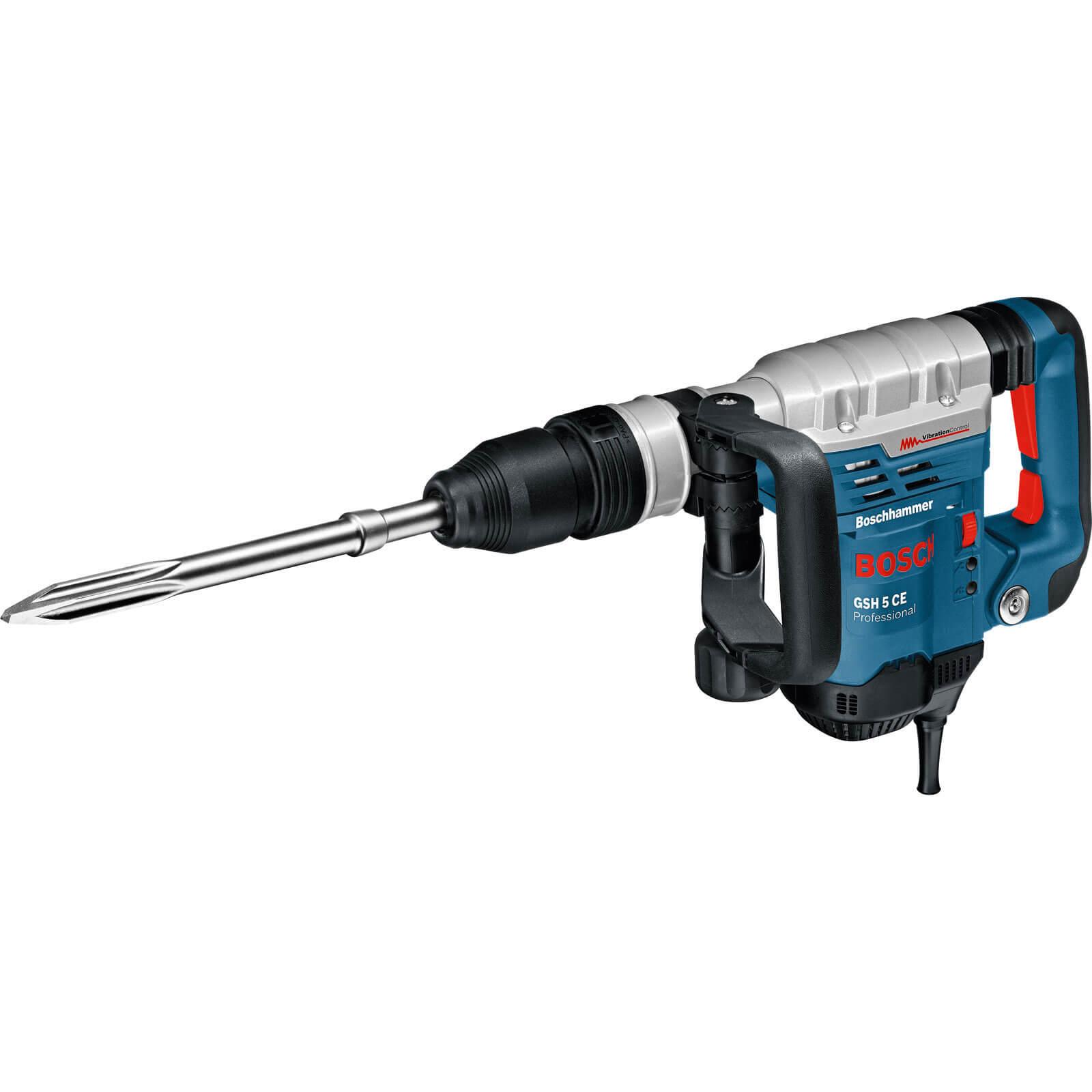 Image of Bosch GSH 5CE SDS Max Demolition Hammer 240v