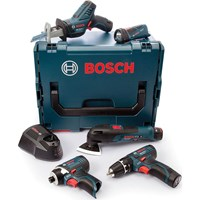 Bosch 12v Cordless 5 Piece Power Tool Kit