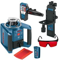 Bosch GRL 300HV Outdoor Self Levelling Rotating Laser Level + LR1 Receiver