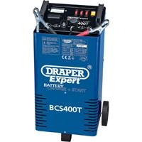 Draper Expert BCS400T Automotive Battery Starter and Charger