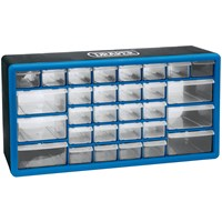 Draper 30 Drawer Wall Mountable Organiser Cabinet