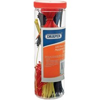 Draper 650 Piece Nylon Assorted Cable Tie Pack
