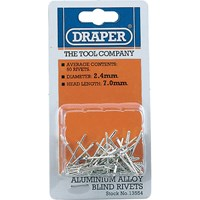 Draper Aluminium Pop Rivets