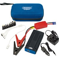Draper LJS136 Lithium Jump Starter and Charger