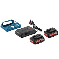 ZZZ Bosch 18v Cordless Wireless Li-ion Battery 2ah & Charger Set